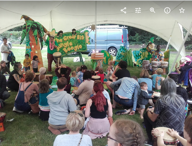 Jungle Boogie at the Green Festival 2019